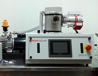 Image of a Denton Vacuum Desk V thin film deposition solution