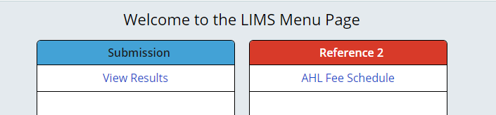 Picture of LIMS online options