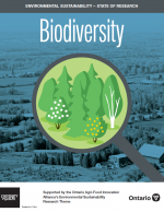 Cover of biodiversity synthesis report