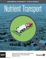 Cover of nutrient transport synthesis report