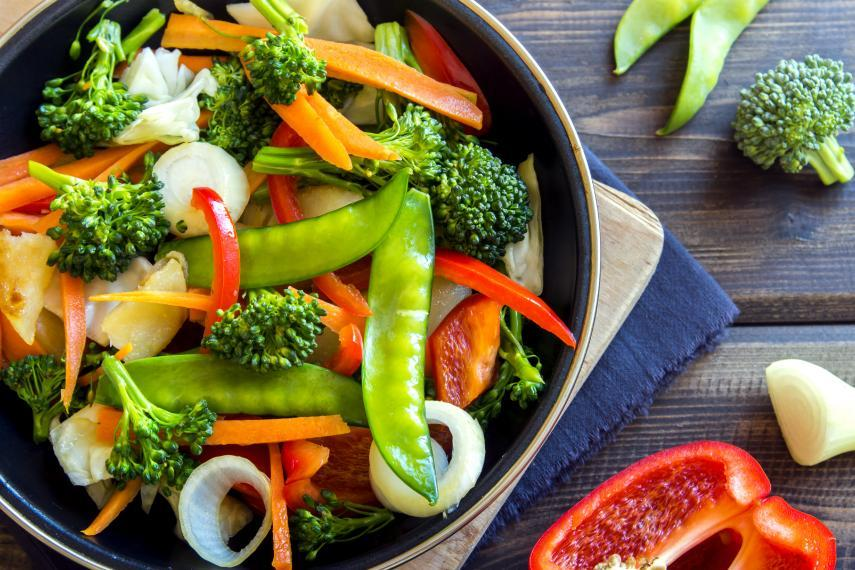 Image of a vegetable stirfry