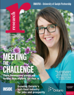 Cover of Meeting the Challenge issue of Research magazine