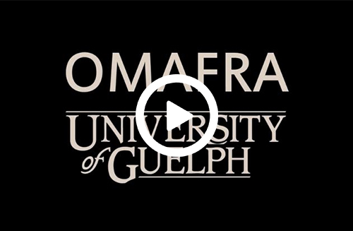 Link to OMAFRA-U of G Agreement video