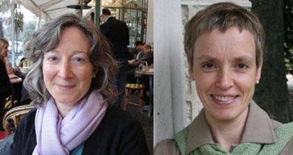 Margot Irvine and Sandra Parmagiani