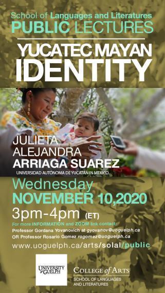 Poster for J. A. Arriaga Suarez talk on November 10 at 3:00pm
