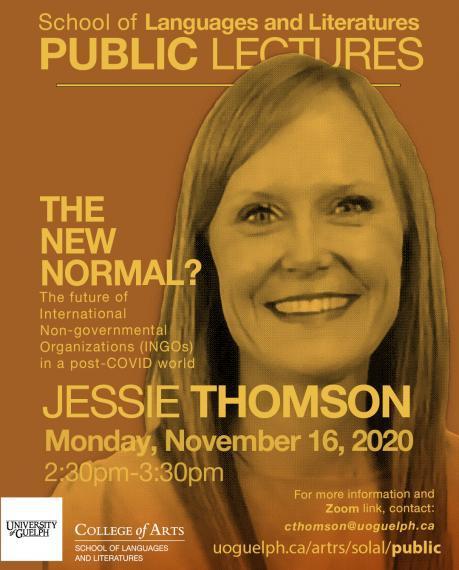 Poster for Jessie Thomson on November 16 at 2:30pm