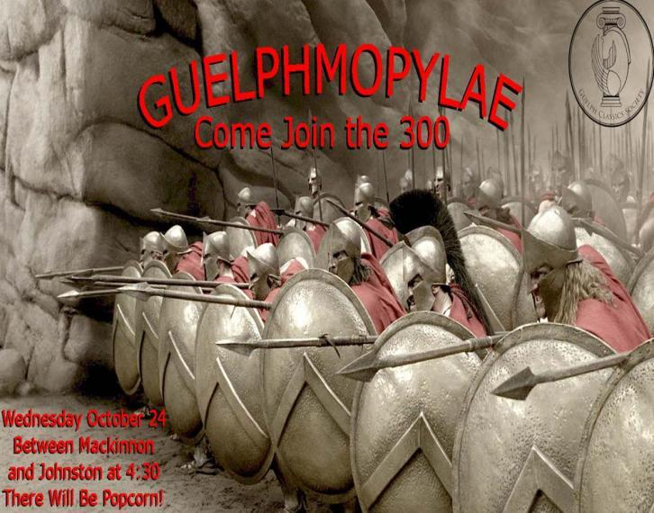 Guelphmopylae poster
