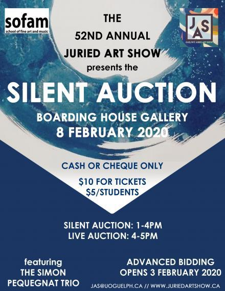Poster for the JAS Silent Auction