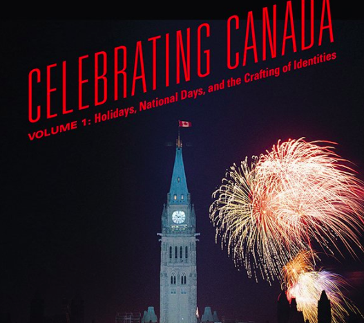 Celebrating Canada book cover