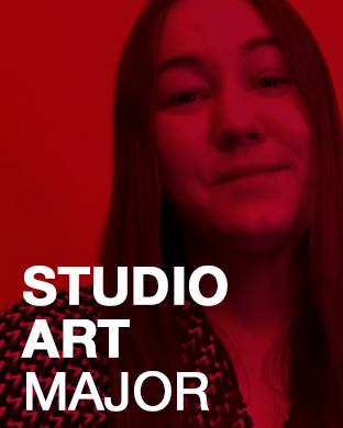 Michael Richardson Studio Art Major Interdisciplinary Design Lab Staff
