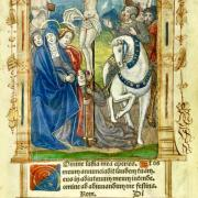 Illumination from the Book of Hours