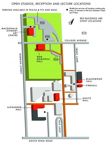 2013 Open Studios Tour Map