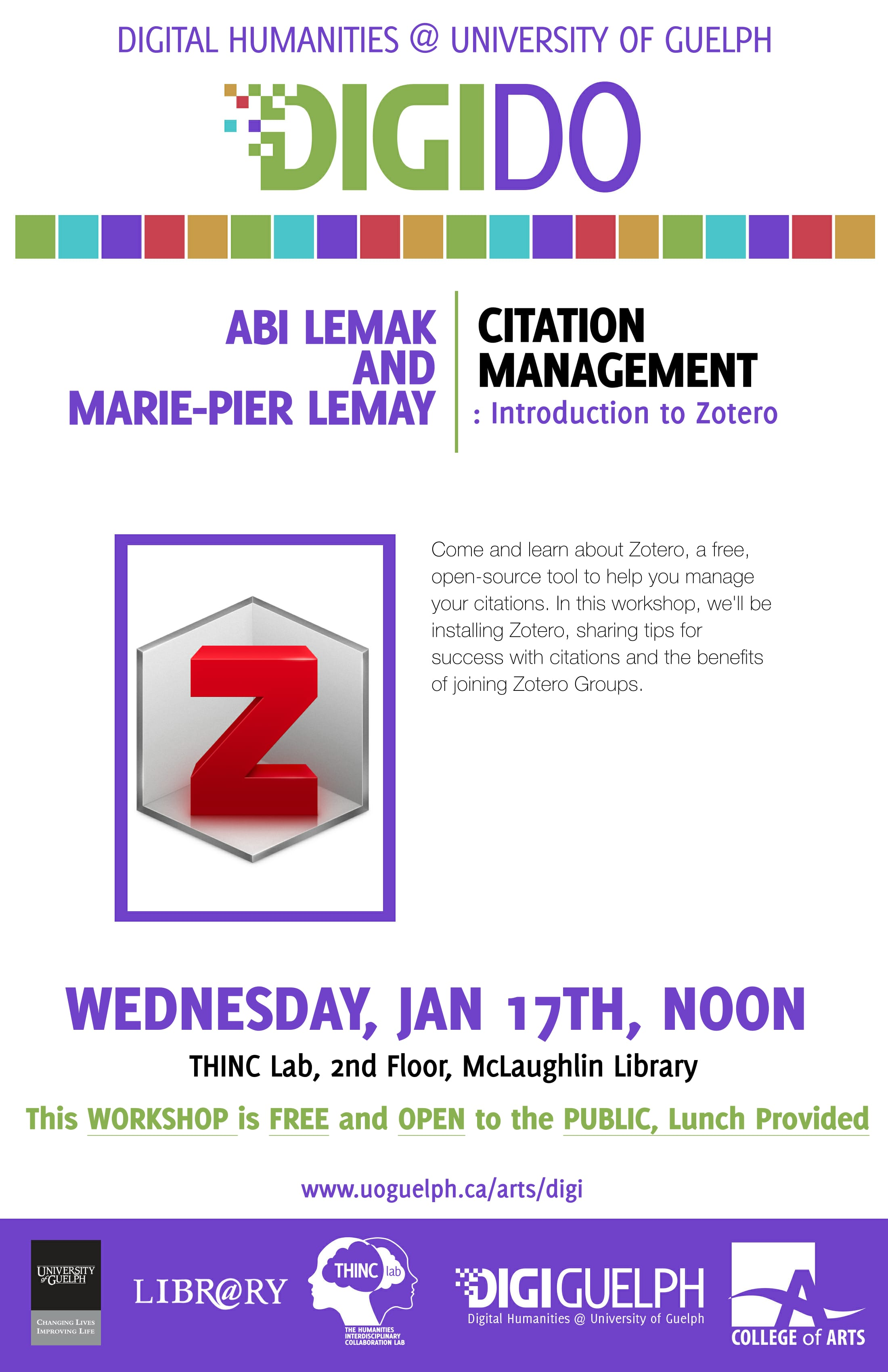 Digi Do poster for Abi Lemak and Marie-Pier Lemay