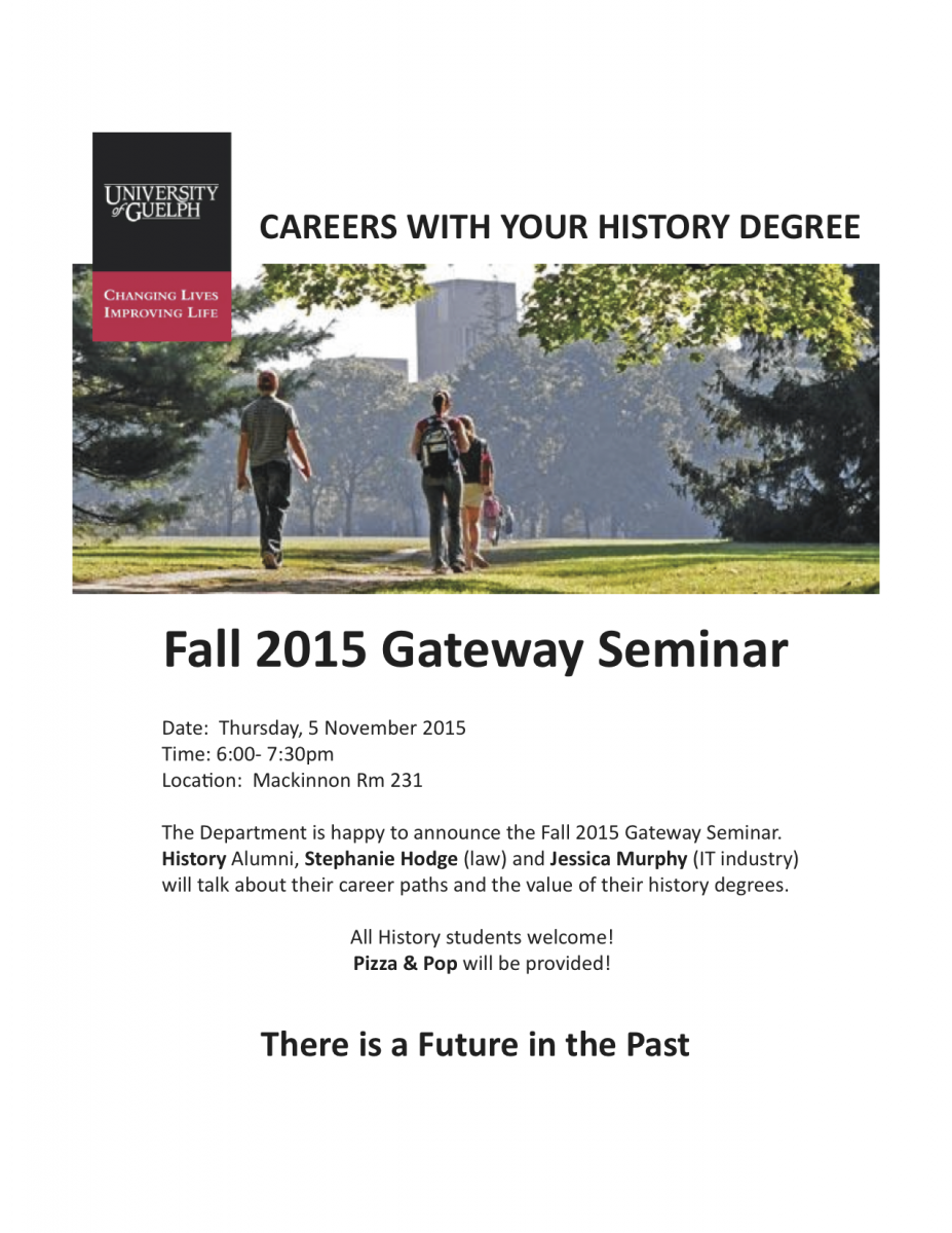 Alumni Speak about their Careers with a History Degree | College ...