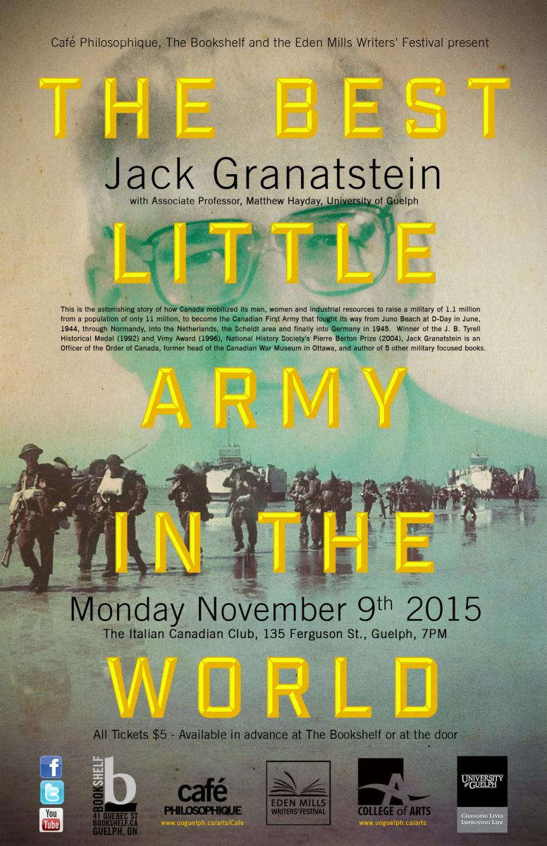the best little army in the world poster