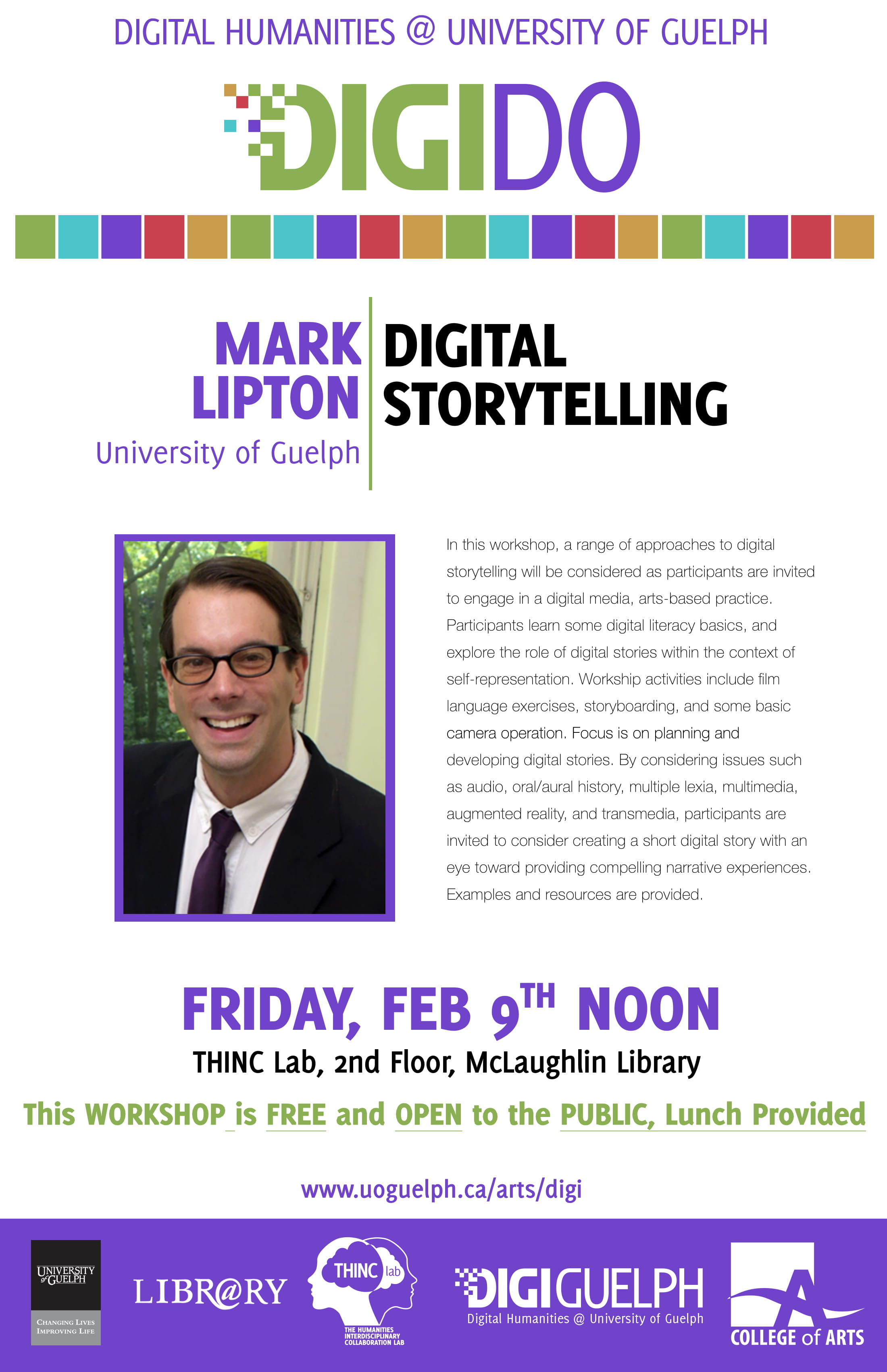 Digi Do poster for Mark Lipton