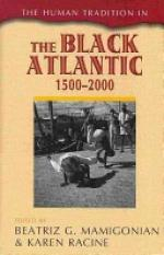 Black Atlantic book cover