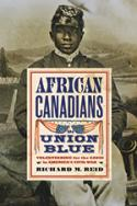African Canadians in Union Blue book cover