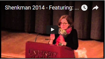 Shenkman Lecture - Roberta Smith Video