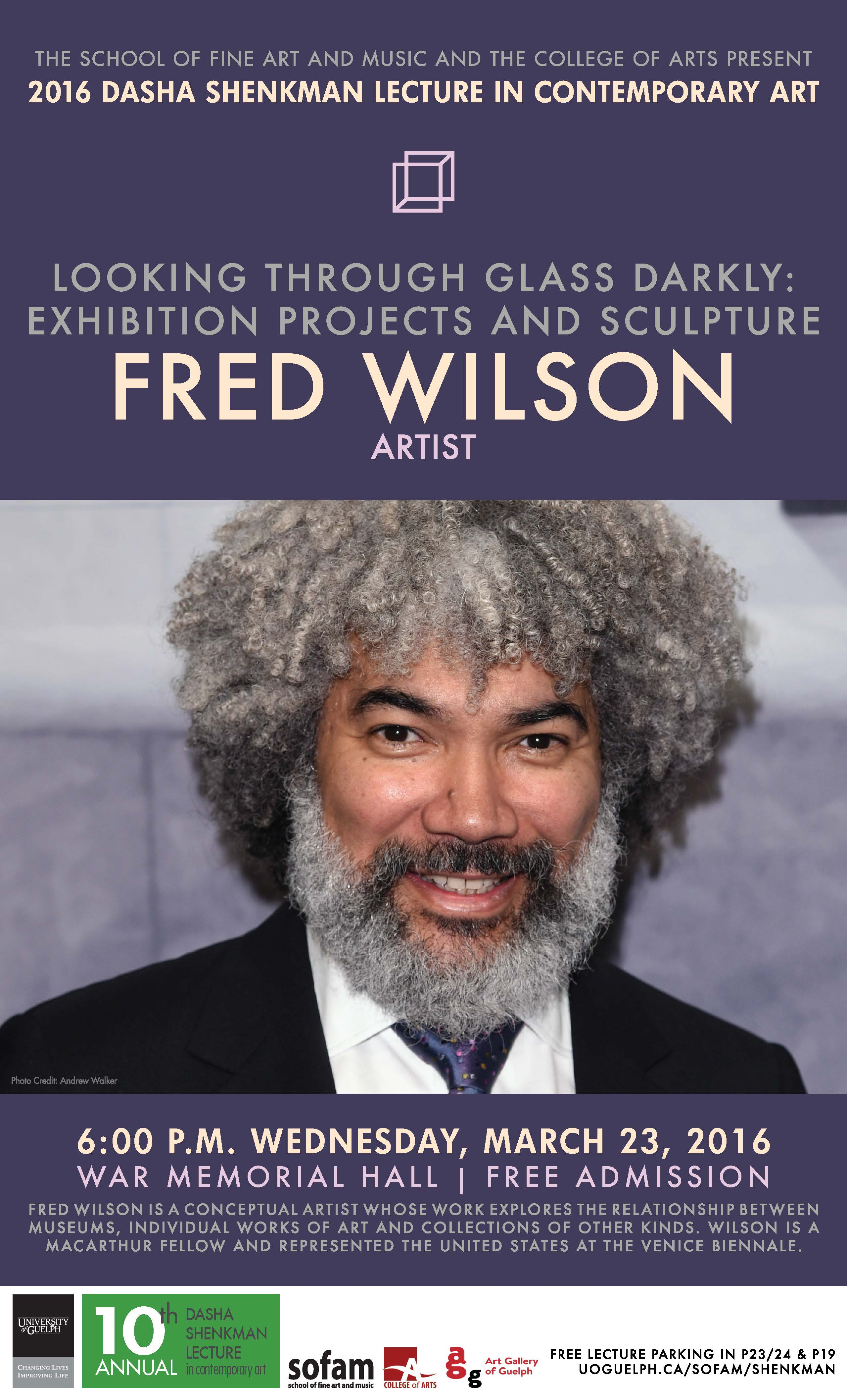 poster for fred wilson