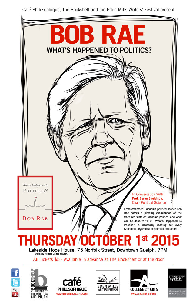 poster for BOB rae event