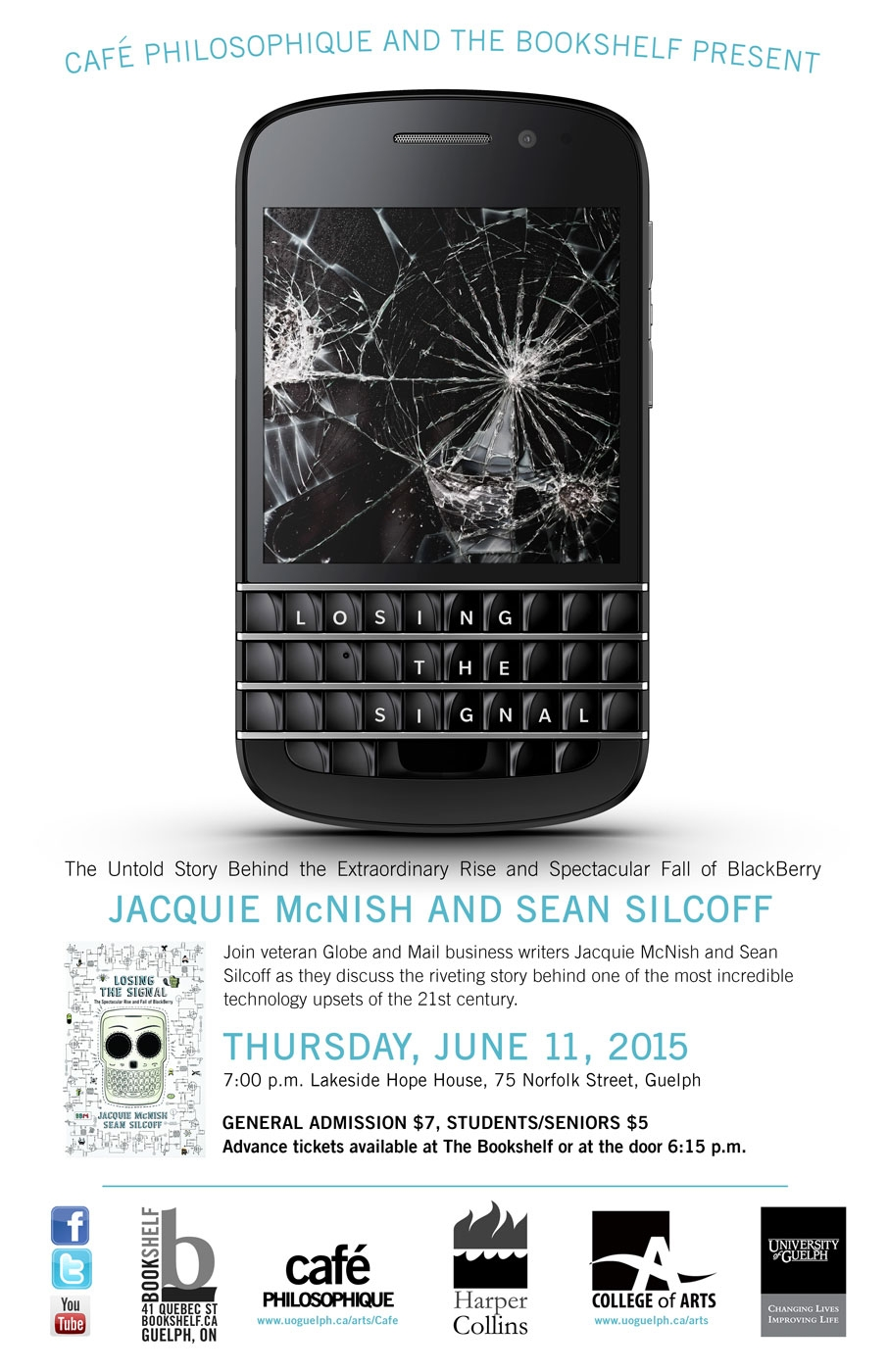 death of blackberry poster