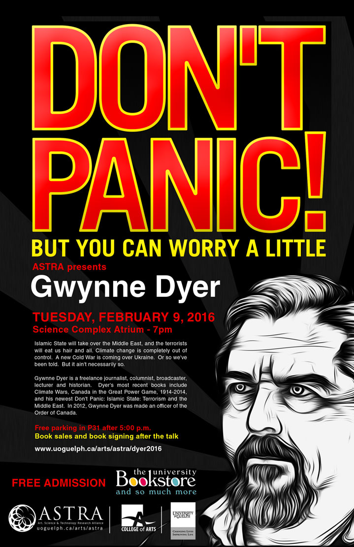 poster for dyer event