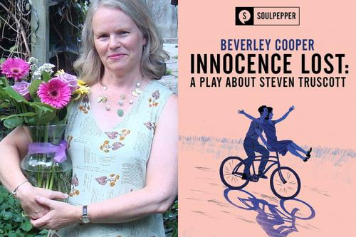 Beverley Cooper, author of Innocence Lost: a play about Steven Truscott at Soulpepper Theatre in Toronto