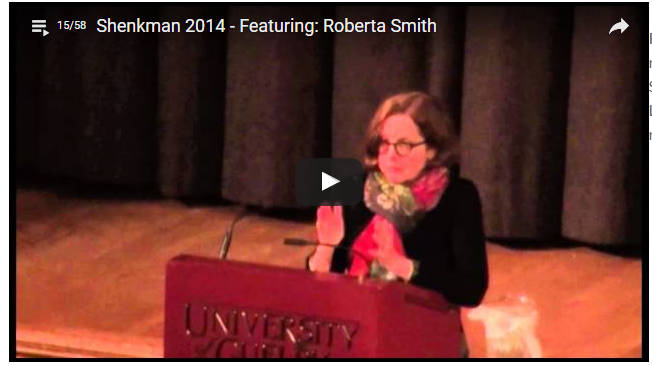 Shenkman 2014 featuring Roberta Smith Videa
