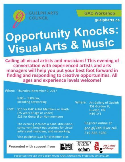 Opportunity Knocks: Visual Arts & Music,  Young Artists Workshop