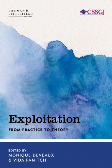 "Cover of ""Exploitation"" edited by Deveaux and Panitch"