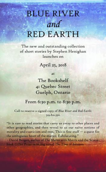 Blue River and Red Earth book launch at the Bookshelf