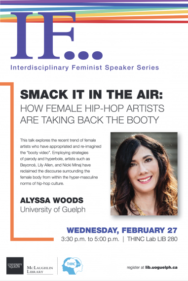 """Poster for """"Smack It In The Air"""" IF Speaker Series"""