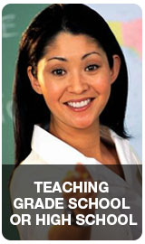 teaching career
