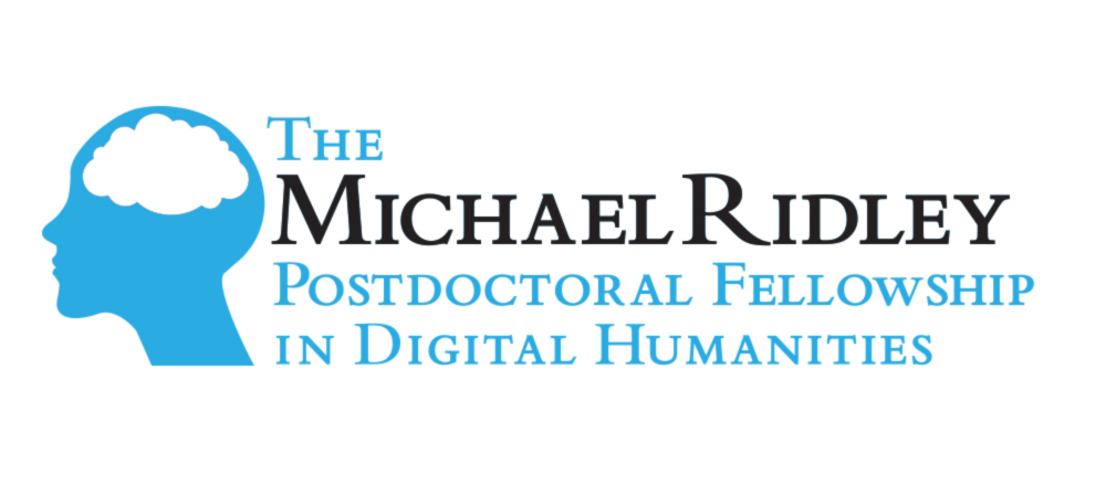 Michael Ridley Postdoctoral Fellowship in Digital Humanities