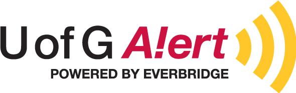 U of G Alert Sign-Up | Be Prepared
