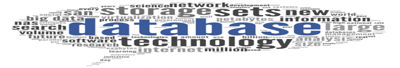 Word Bubble with theme of Database, Information and Search