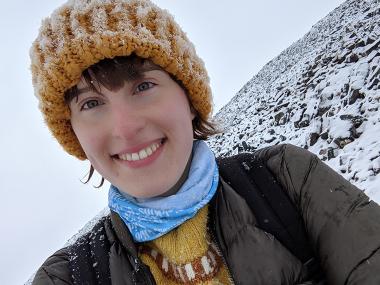 Isobel Barlow-Busch in Alert, Nunavut