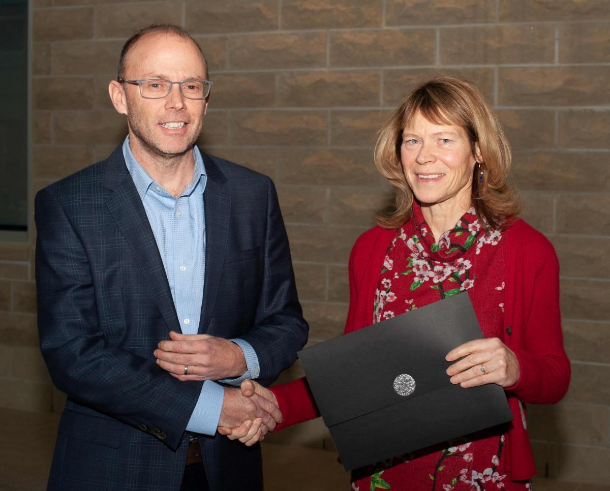 Prof. Todd Gillis and Prof. Patricia Wright