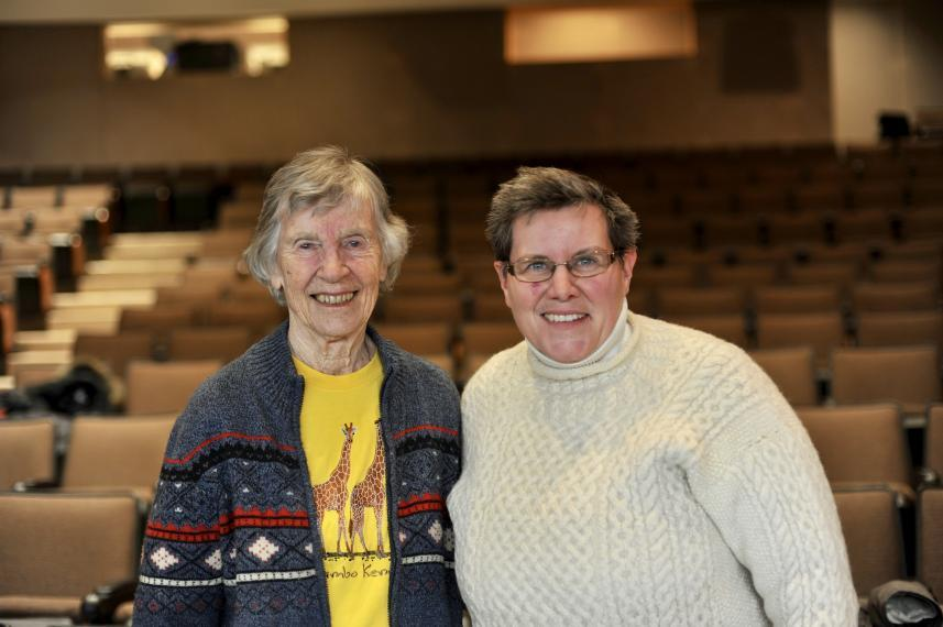 Dr. Anne Innis Dagg and Prof. Coral Murrant