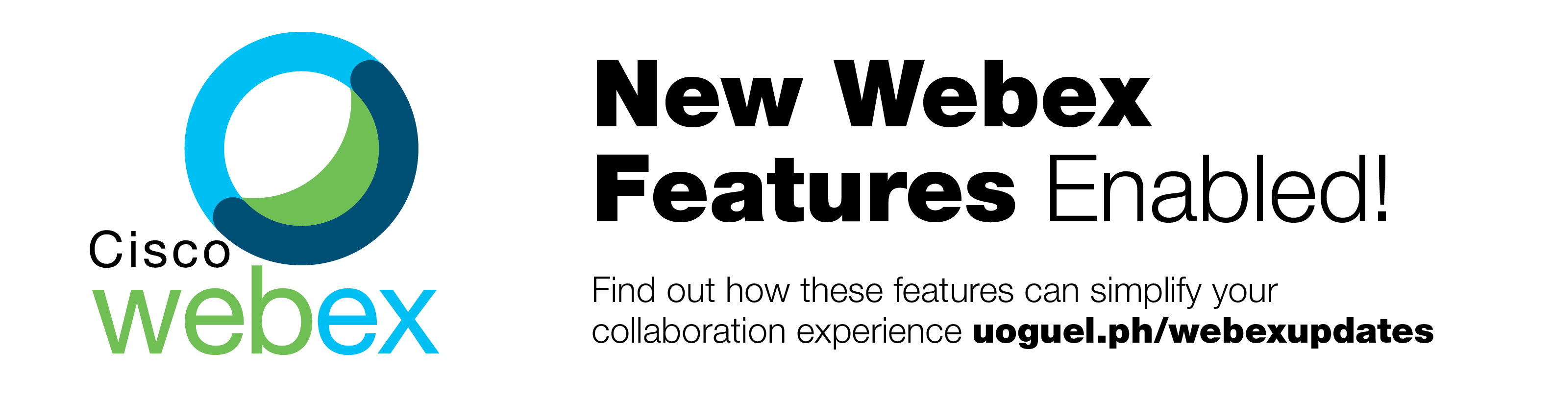 New Webex Features Enabled! Find out how these features can simplify your collaboration experience