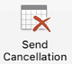 Send Cancellation button within Outlook
