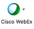 Webex icon in Outlook toolbar