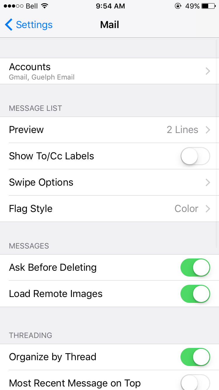 how to add office 365 email to ios