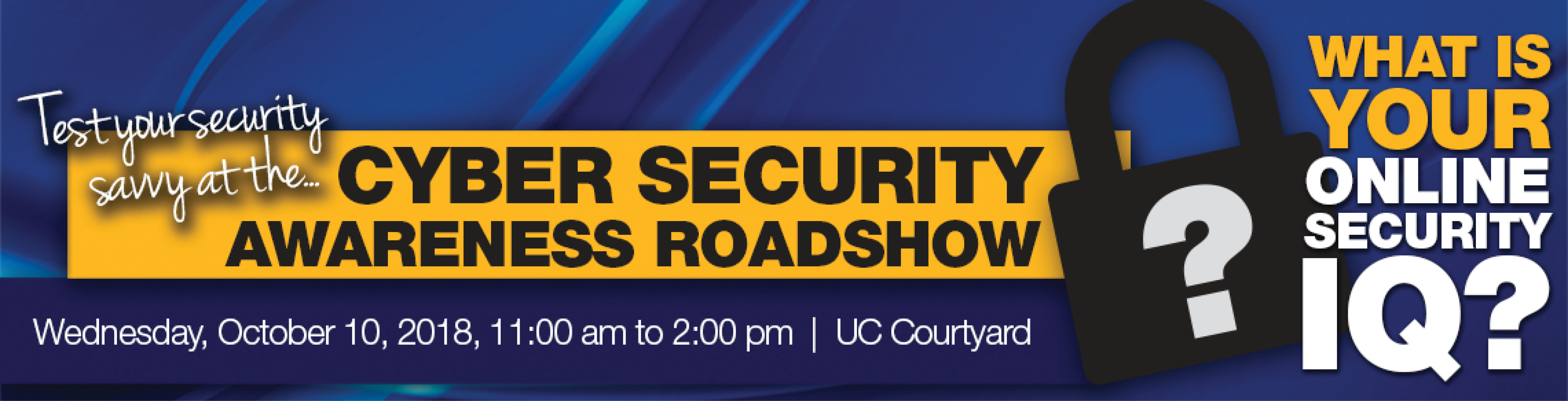 Security Awareness Roadshow Banner