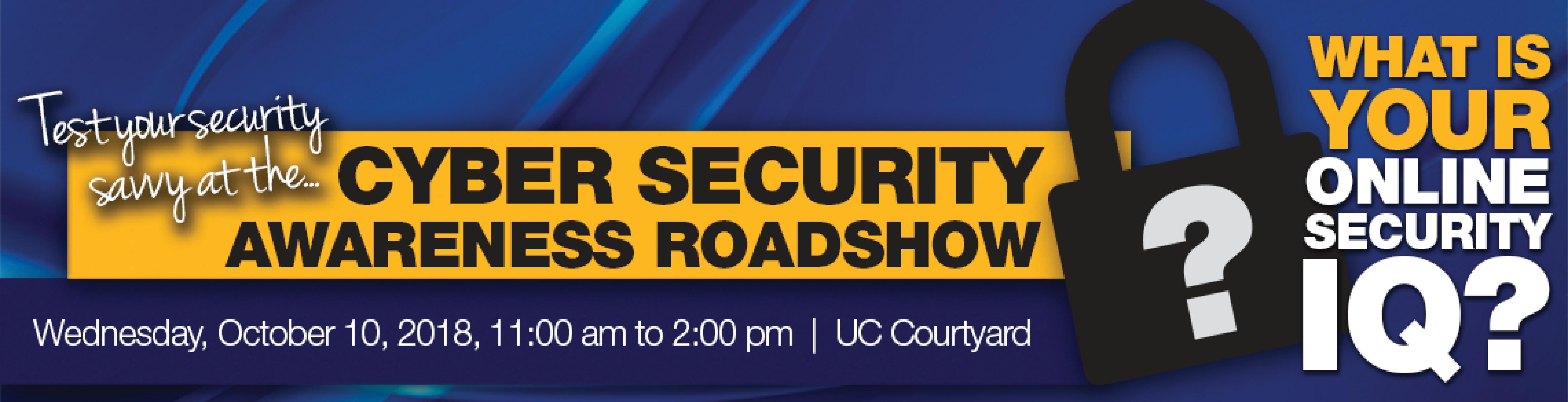 Security Awareness Roadshow Banner