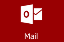Microsoft Outlook Logo and a link to the Mail WebPage on the CCS Website