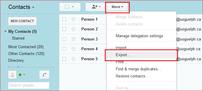 Migrating your Google Contacts to Outlook | Computing