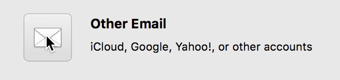 """Visualization of the option """"Other Email""""."""