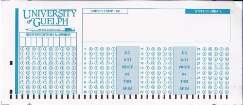 CEVAL Supported Scantron Forms | Computing & Communications Services